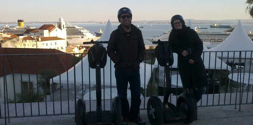Segway Tour in Lisbon