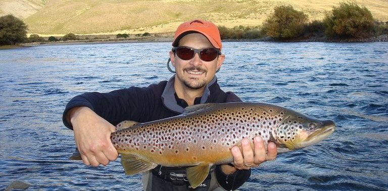 Fly Fishing in Bariloche with Martin Freedman