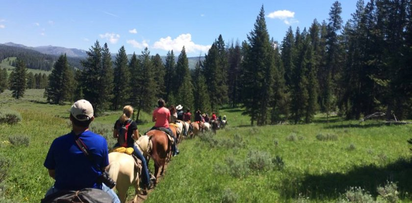 Horseback in West Yellowstone