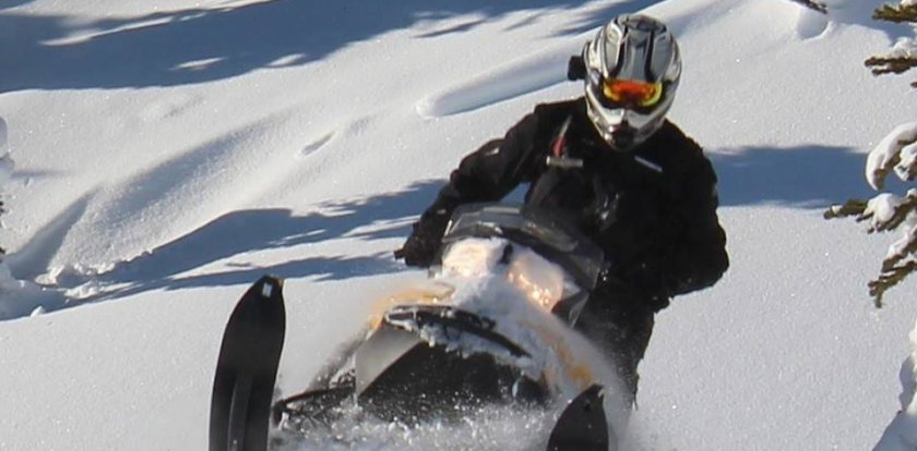 Snowmobile Tour in Pemberton with Ray Mason
