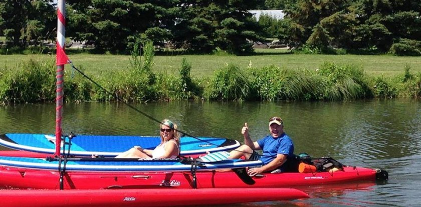 Kayaking in Summerstown with Blair Bell