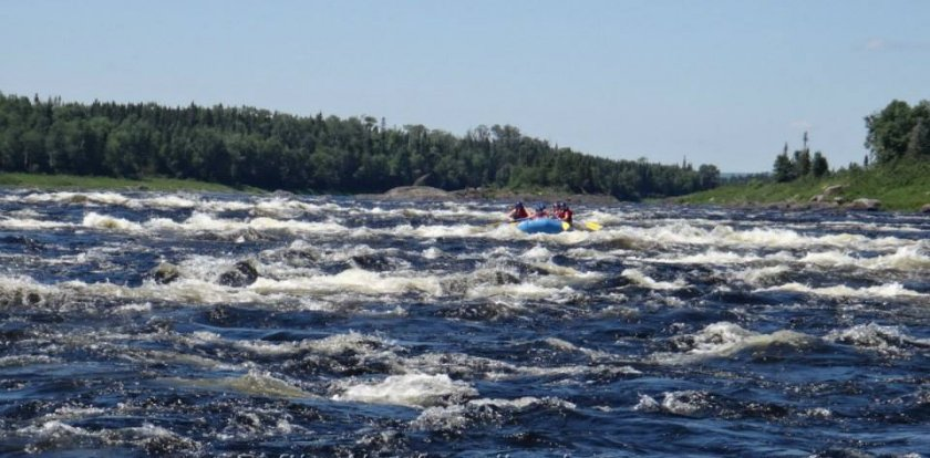 Rafting in Grand Falls-Windsor