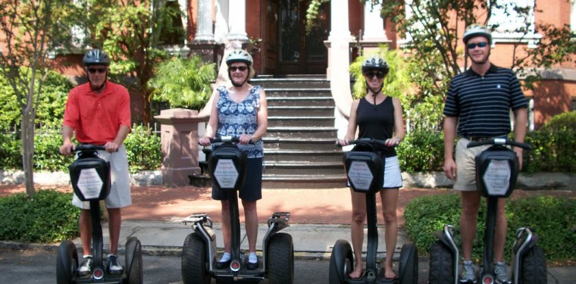 Segway Tour in Charleston