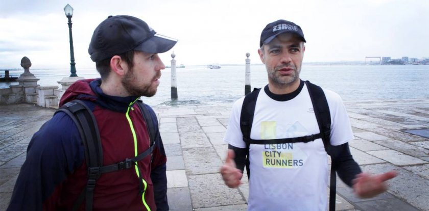 Running Tour in Lisbon with Pedro Vieira