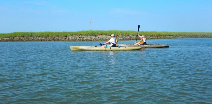 Kayaking in Pawleys Island