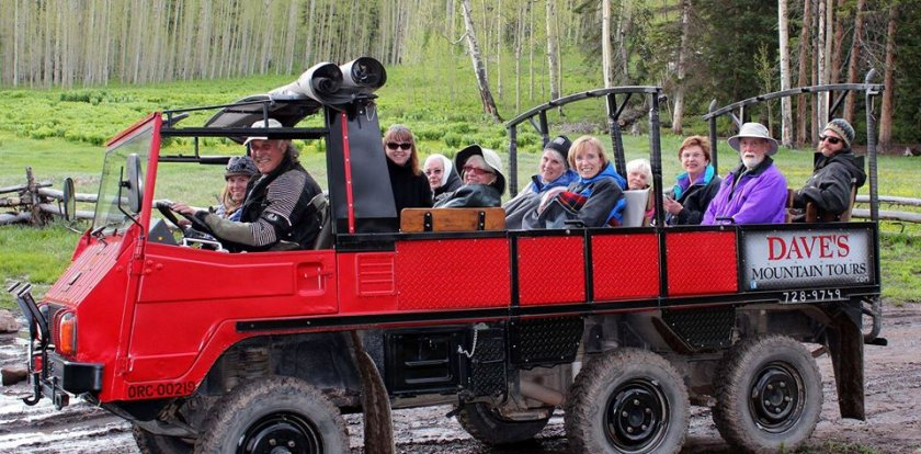 4WD Tour in Telluride with Mr. Dave Rote