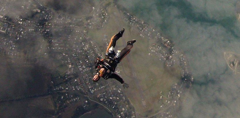 Skydiving in Whangarei