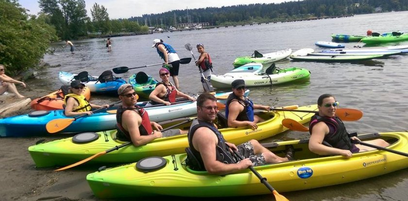Kayaking in Bothell