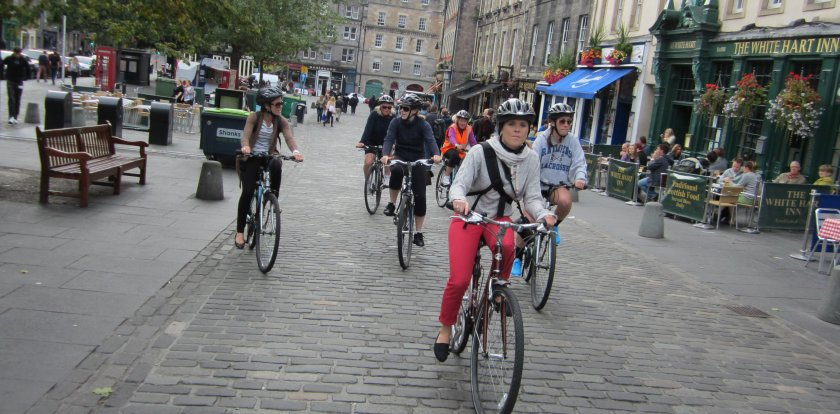 Bike Tour in Edinburgh