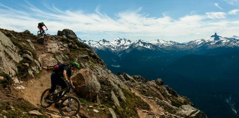 Mountain Biking in Whistler with Shaun Fry