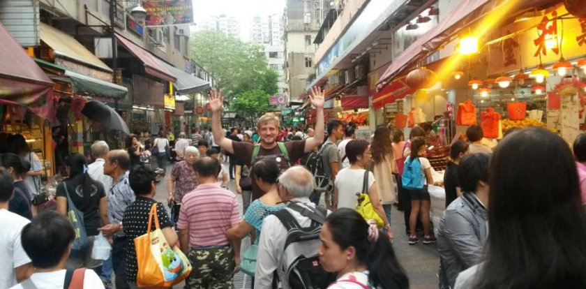 Market Tour in Hong Kong