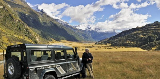 4WD Tour in Queenstown with Dick Watson