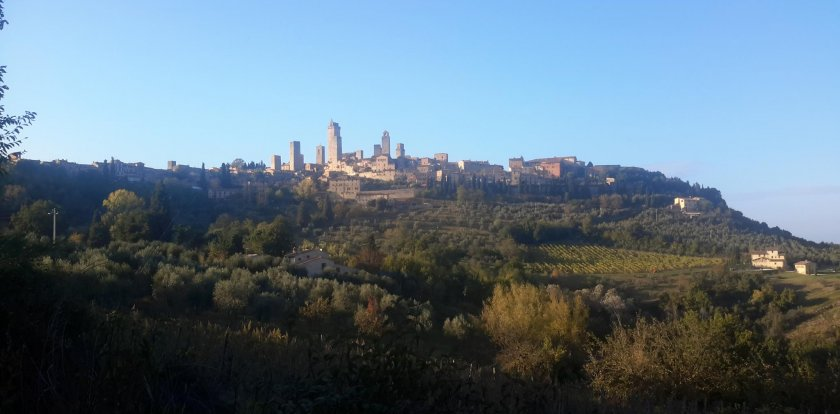 Hiking Trekking in San Gimignano