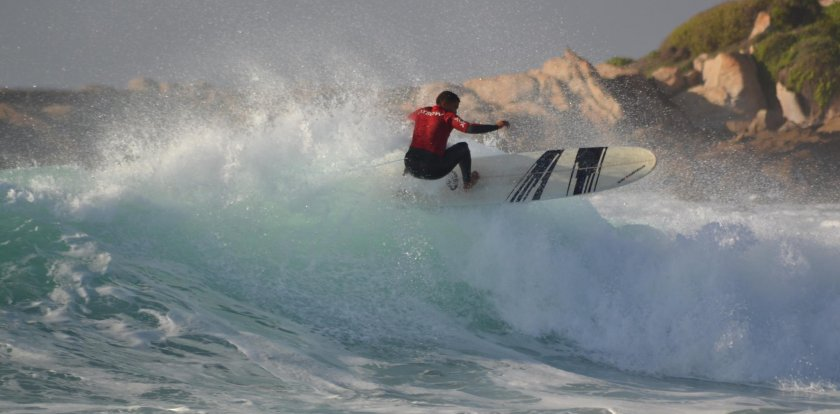 Surfing in Cape Town