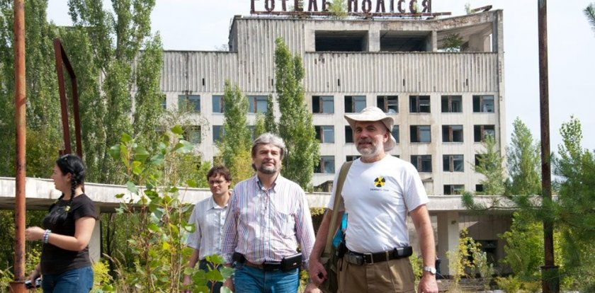 Walking Tour in Chernobyl