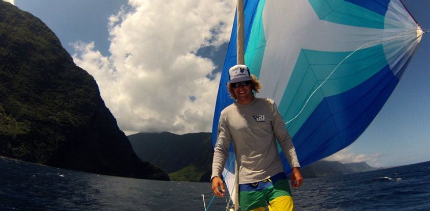 Kayaking in Kaneohe with Garret Venema