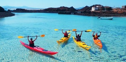 Kayaking in Las Palmas de Gran Canaria