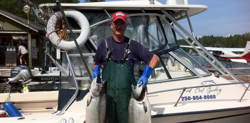Deep Sea Fishing in Port Alberni with Pat Ahern