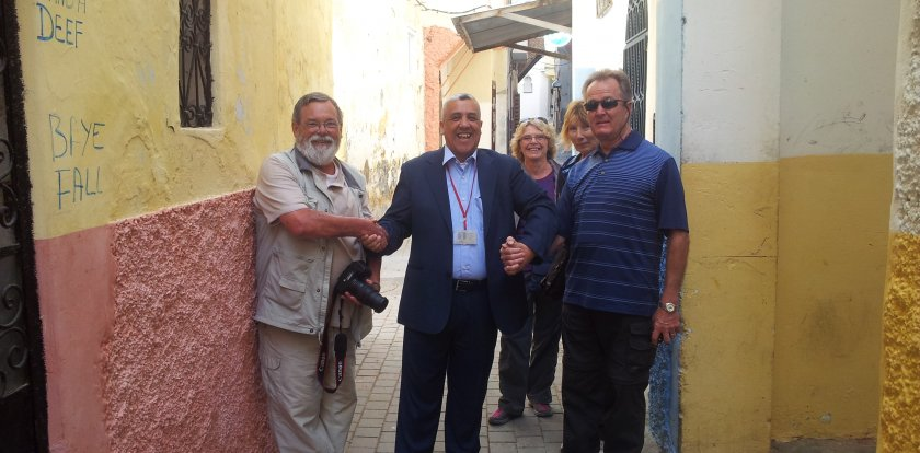 Walking Tour in Tangier with Jamal Chatt