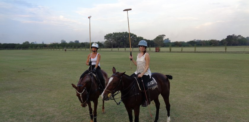 Horseback in Buenos Aires with Charlene