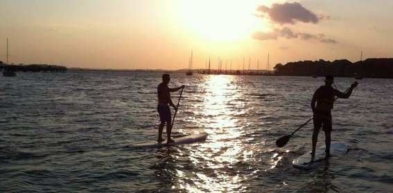 Stand Up Paddleboarding in Charleston