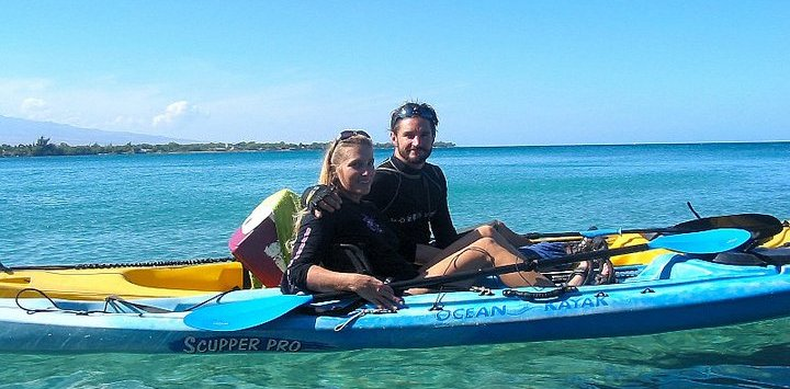 Kayaking in Hawaii with Sian