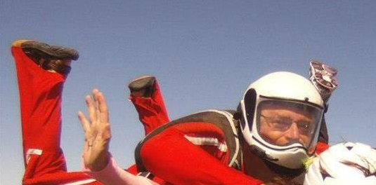 Skydiving in Lambton Shores with Bob Wright
