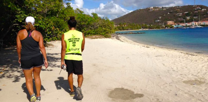 Running Tour in US Virgin Islands