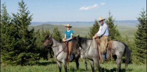 Horseback in Pincher Creek with Kate McKim Keil