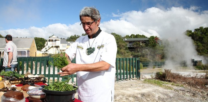Food Tour in Rotorua with Charles Royal