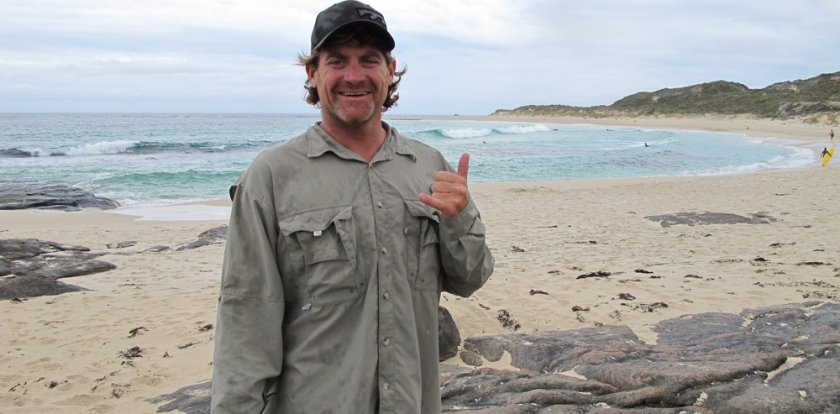 Surfing in Margaret River with Josh Palmateer