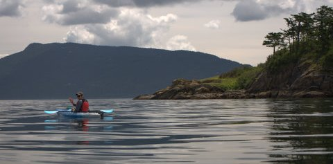 Kayaking in Orcas Island
