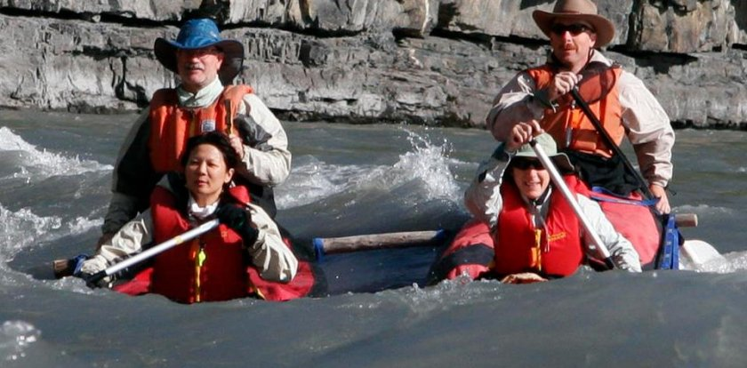 Canoeing in Whitehorse with Neil Hartling