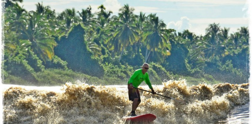 Stand Up Paddleboarding in Denpasar with Giancarlo Avancini