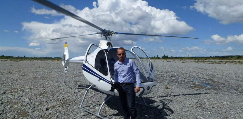 Helicopter Tour in Auckland with Keith Stephens