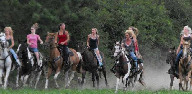 Horseback in Little River