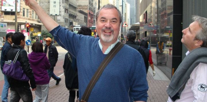 Market Tour in Hong Kong with Dicky Woollard