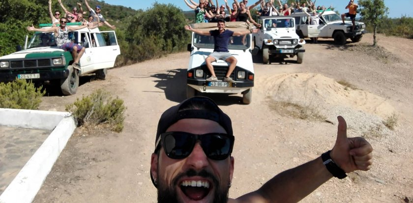 4WD Tour in Algarve with Hugo Matos