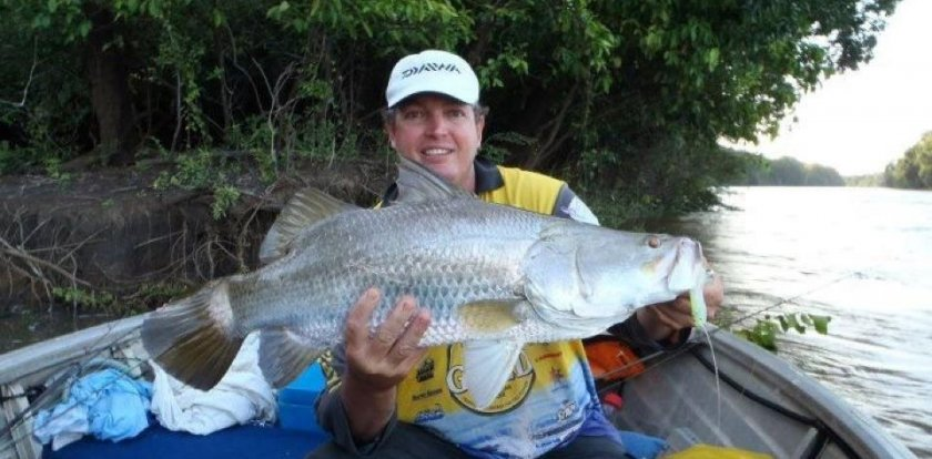 Fishing in Darwin with Trevor Robb
