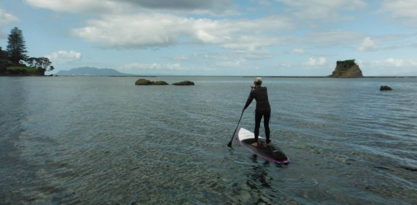 Stand Up Paddleboarding in Auckland