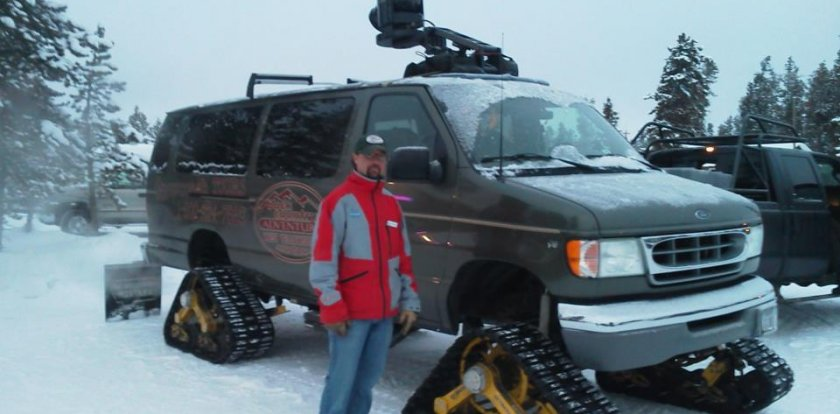 Snowmobile Tour in West Yellowstone with Jerry Johnson