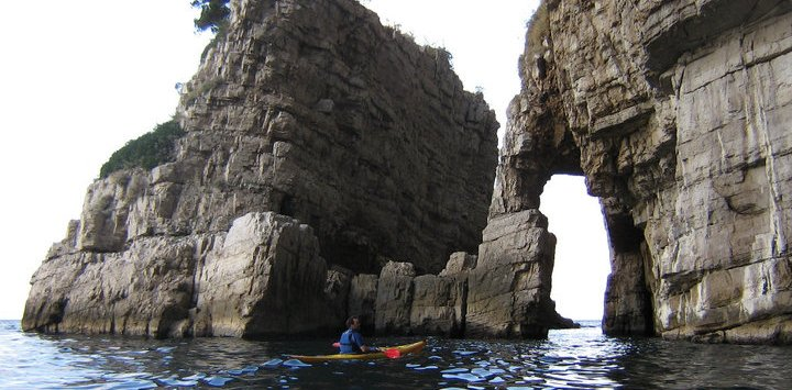 Kayaking in Salerno