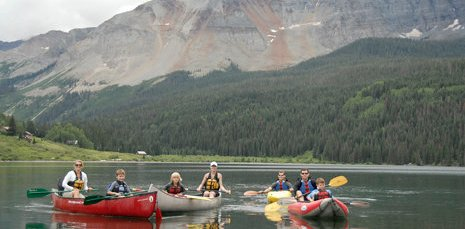 Kayaking in Telluride