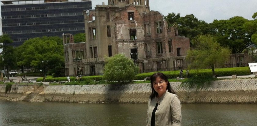 Heritage-History Tour in Hiroshima with Mie Tokunaga