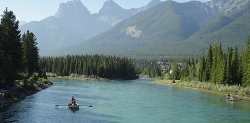 Fishing in Canmore