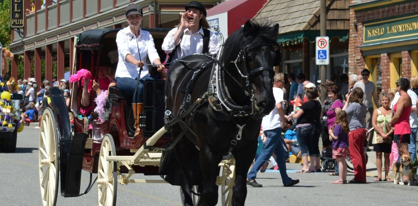 Carriage Tour in Kaslo