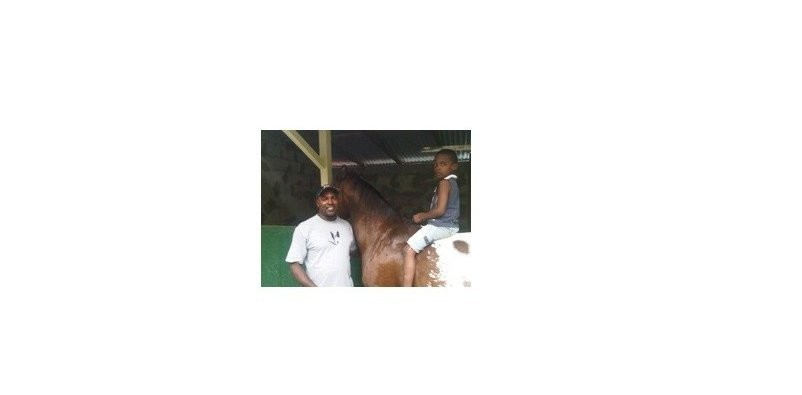 Horseback in Dennery with Andre Edwin