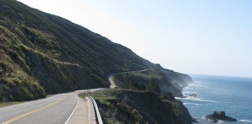 Cycling in Big Sur