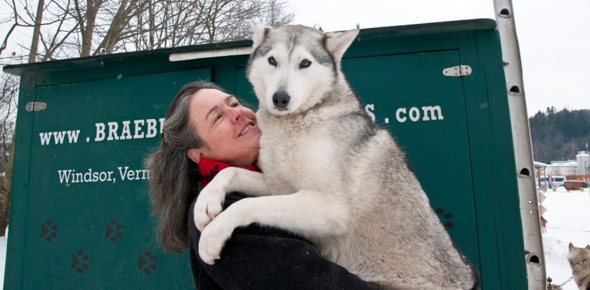 Dog Sledding in Windsor with Kathy Bennett