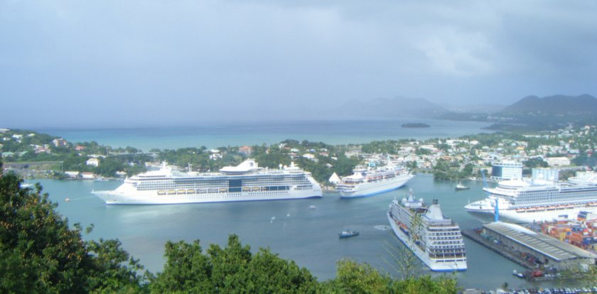 Island Tour in Castries